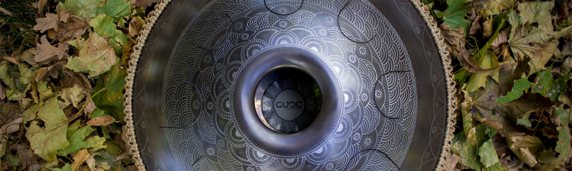 GUDA stainless steel tongue drum