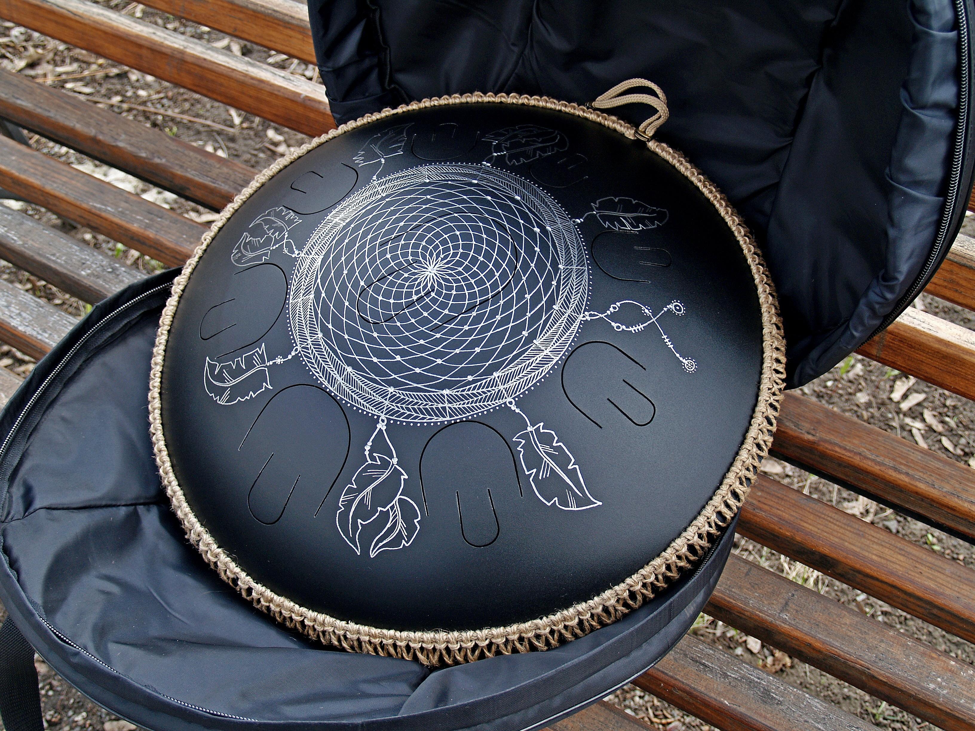 dreamcatcher overtone tongue drum design. Black Bedroom Furniture Sets. Home Design Ideas