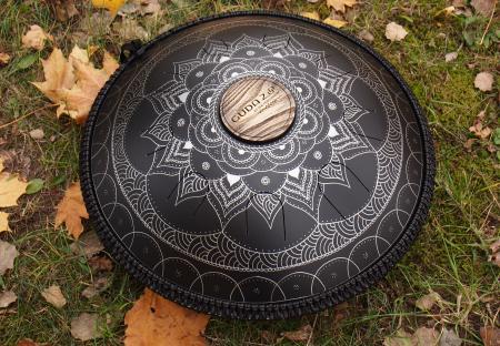 Guda steel drum. Lotos design