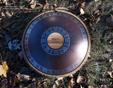 Guda steel tongue drum. Design Ukrainian.Model Neo 8