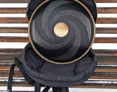 guda 2.0 steel tongue drum. photo in the bag