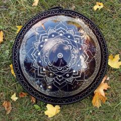 Guda double.Lotus. Midnight blue
