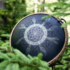 Guda Coin. Dreamcatcher design2