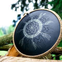 Guda Coin. Dreamcatcher design3