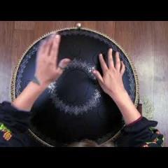 Игра на инструменте Гуда. Урок 1. Звукоизвлечение. (RUS)