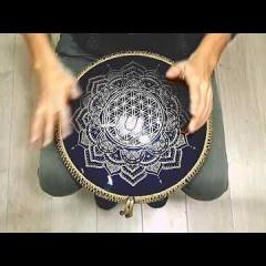 Guda Ortus Brass. Enigma  scale. Flower of life design