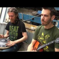 17 beat rhythm improvisation Guda Drum (Pasha Aeon) Balalaika (George Nefedov)