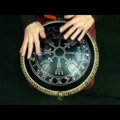 "Freezbee. ""Celtic Minor"" scale. ""Runes"" design."