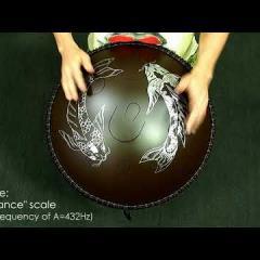 """Guda Double. """"Zen Trance"""" scale / """"Equinox"""" scale. A=432Hz"""