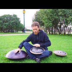 Guda Freezbee and handpan