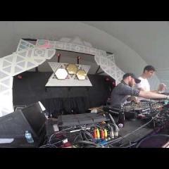 Live Guda Drum + Roland FX + DJing   Dunmore Park Live at Astral Harvest 2018
