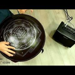 "Guda Double FX. ""Mystic"" scale / ""Equinox"" scale. (in the frequency of A=432Hz)"