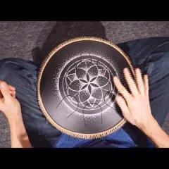 Guda Lessons. Practicing on rhythm: 3/4.