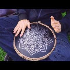 Guda Freezbee drum by Zen-Percussion