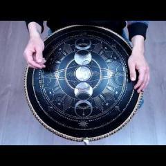 Guda Plus. Steelpan option. Scale: Zen Trance in key of D, 432 hz
