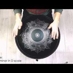 Guda Double. Celtic minor / Raga desh scale.
