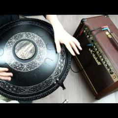 Guda Double FX. F Ab Bb C Db Eb F Ab C/  G Bb C D F G Bb C D  custom  scales