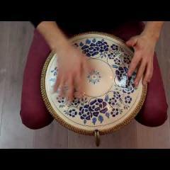 """Guda Freezbee """"Porcelain-2"""" design. Arcane scale"""
