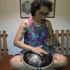 Guda Drum. Freezbee model. Charissa Adeline