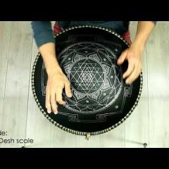 Guda Double. Raga Desh scale / Major Pentatonic scale