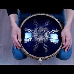 Guda Freezbee (Steel tonque drum). Custom scale.