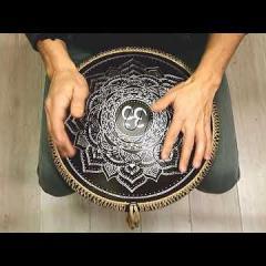 Guda Ortus Brass. Raga Desh in E scale. Ice Flower design. A=432 Hz