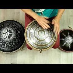 Guda Freezbee. Mystic scale. Greek design.