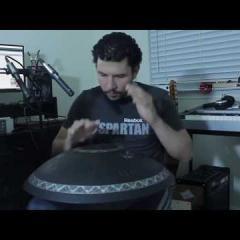 60 sec Guda Drum challenge. Jesus Eduardo Cabrera