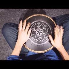 Guda Lessons. Practicing on rhythm: 7/4