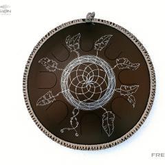 brown Dreamcatcher design