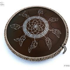 brown Dreamcatcher design 2