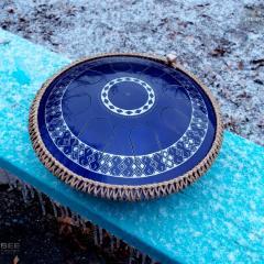 Freezbee, midnight blue finish