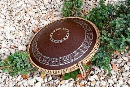 Freezbee, Ukrainian design, Equinox scale, dark brown
