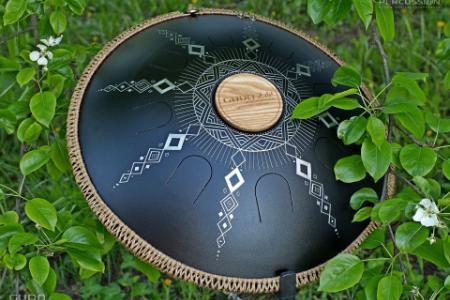 rope decoration on Guda drum