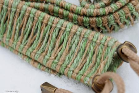 Rope decoration for handpans and tongue drums photo 5