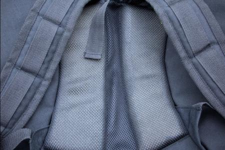 Travel bag. Photo foam back