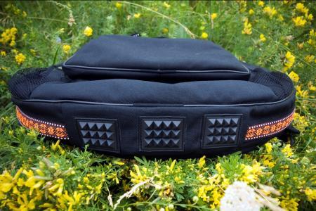 Travel bag. Photo protectors