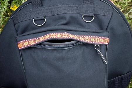 Travel bag. Photo big pocket