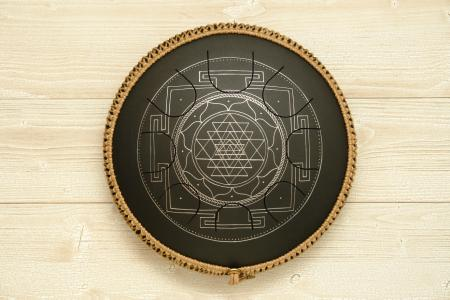 Freezbee Sri Yantra, black finishing.photo 4
