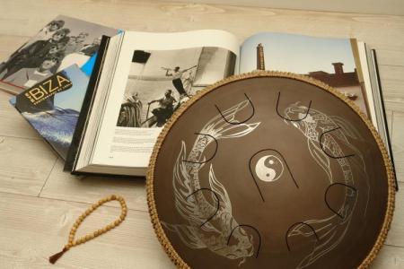 Guda Neo 9 steel tongue drum. Carpus Koi. Photo 2