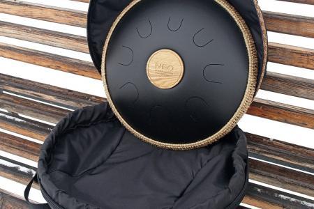 Neo 8, shagreen black color. photo 4 bag