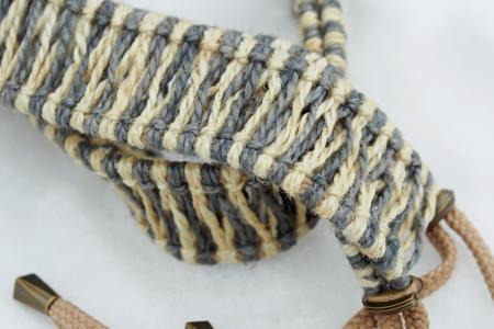 white-grey rope