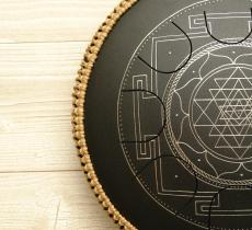 Freezbee Sri Yantra, black finishing.photo 1