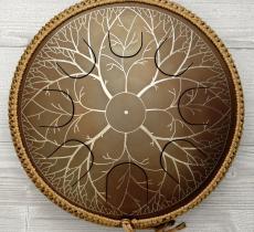 """Freezbee drum, """"Tree design"""" photo 1"""